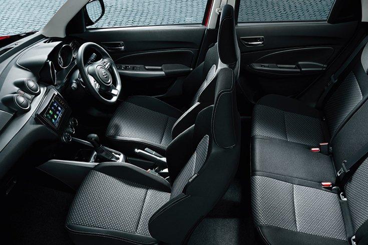 Đánh giá xe Suzuki Swift 2021 về ghế ngồi.