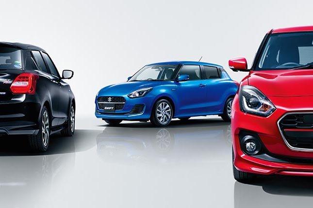 Đánh giá xe Suzuki Swift 2021 về đầu xe.