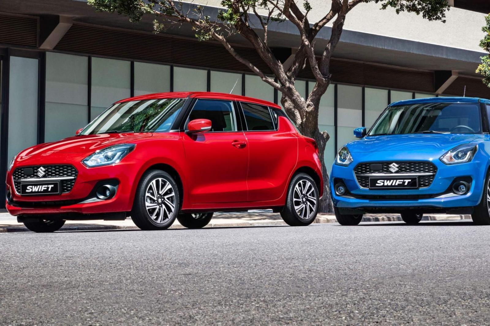 Đánh giá xe Suzuki Swift 2021 mới.