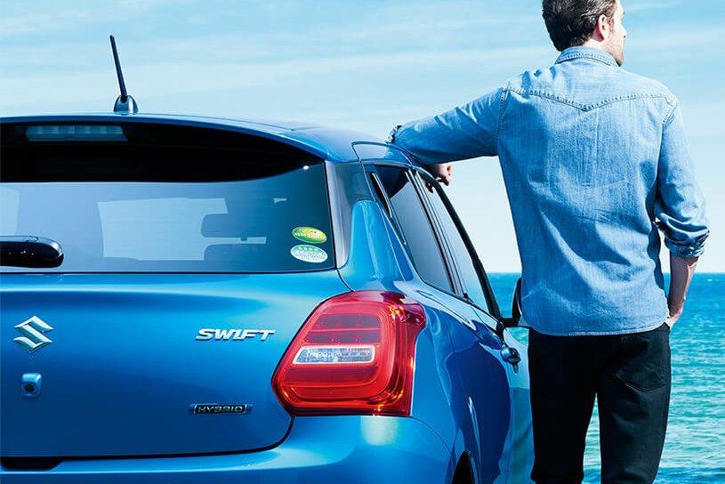 Đánh giá xe Suzuki Swift 2021 về thiết kế đuôi xe - Ảnh 1.